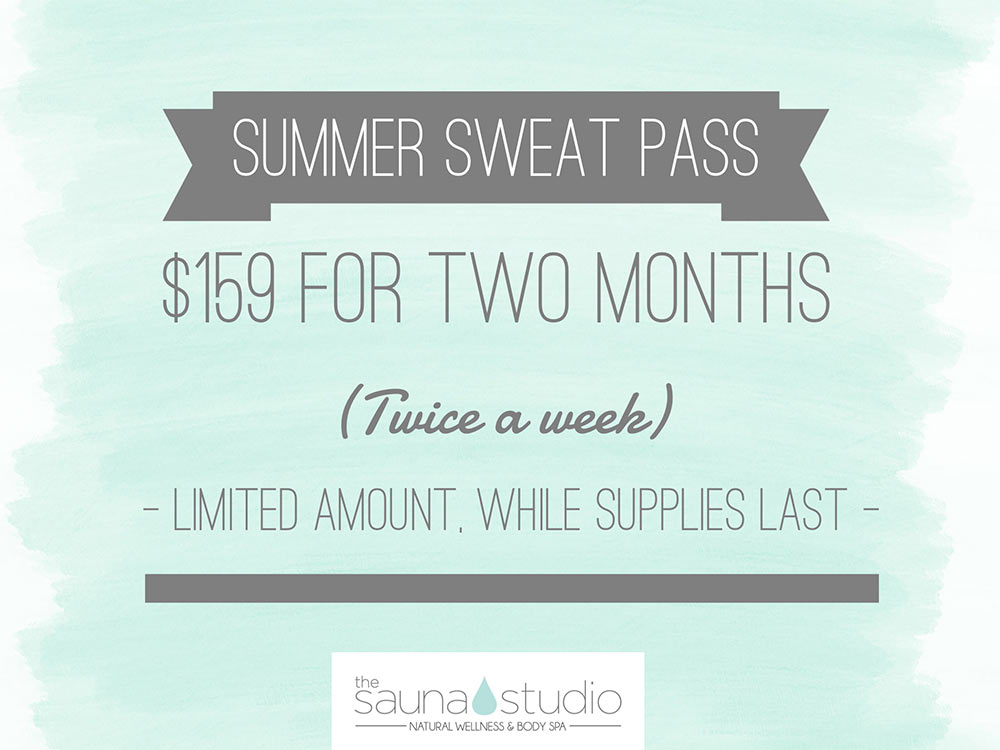 Sauna Studio Special July
