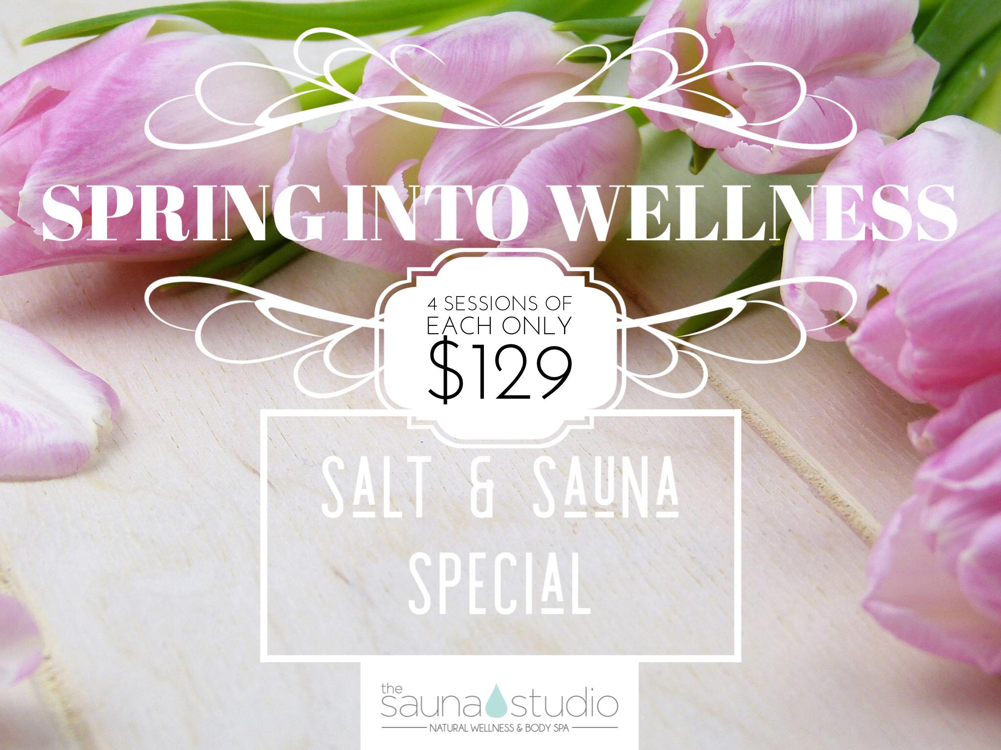 Sault and Sauna Spring Special